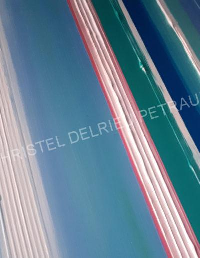 ARTISTE / PEINTURE CHRISTEL DELRIEU PETRAUD